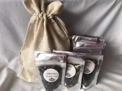 gift pack selection of 7 flavoured black teas