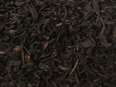 Black tea blended with vanilla pods